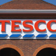 Tesco Sign — Stock Photo