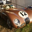 Jaguar C Type racing car — Stok Fotoğraf #12905707