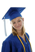 High school graduate — Stock Photo