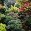 Japanese Garden, Portland, Oregon - Stock Photo