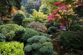 Japanese Garden, Portland, Oregon — Stock Photo