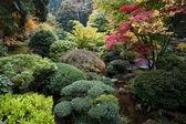 Japanese Garden, Portland, Oregon — Stock Photo