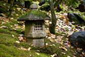 Shrine in Japanese garden — Stock Photo