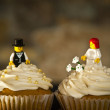 Wedding cupcakes — Stock fotografie #21414321