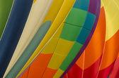 Closeup of hot air balloons — Stock Photo