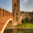 Old castle, Verona, Italy - Stock Photo