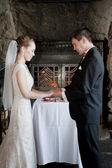 Wedding vows — Stock Photo