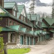 Lodge in ski resort — Stock Photo #21465997