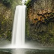Stock Photo: Pacific Northwest waterfall panoramic