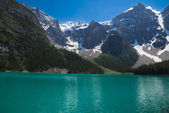 Moraine Lake in Banff National Park — Stock Photo