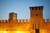 Old castle, Verona, Italy — Stock Photo