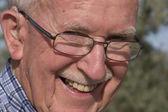 Happy senior man — Stock Photo