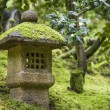 Shinto shrine in a garden — Stock Photo
