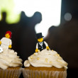Wedding cupcakes — Stock Photo #21640475