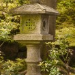 Buddhist shrine in a Japanese Garden — Stok fotoğraf