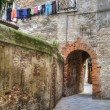 Ancient archway, Venice, Italy — Stock Photo