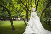 Statue of George Sand, Paris — Stockfoto