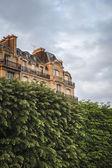 Apartment building, Paris — Stock Photo