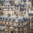 Royalty-Free Stock Photo: Paris seen from above