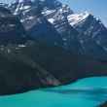 Petyo Lake, Banff National Park — Stock Photo #21768547