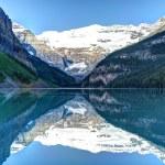 Lake louise, Parque Nacional banff — Foto de Stock