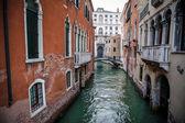 運河、ベニス、イタリア — ストック写真