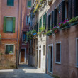 Residential buildings in Venice — Stock Photo