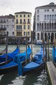 Gondolas, Venice, Italy — Stock Photo
