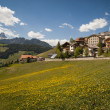 Stock Photo: Mountain village, Tyroleregion of northern Italy