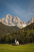 Dolomite mountains, Tyrolean region of Italy — Stock Photo