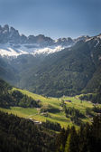 Tyrolean landscape, northern Italy — Stock Photo
