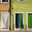 Colorful houses in Burano, Italy — Stockfoto