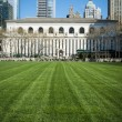 Bryant Park lawn, New York City Library — Stock Photo #25226441