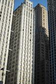 небоскребы, манхэттен, нью-йорк сити — Стоковое фото
