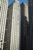 Wolkenkratzer, manhattan, new york city — Stockfoto