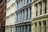 Historic buildings in New York City's Soho District — Stock Photo