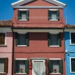 Colorful house, Burano, Italy — Stock Photo