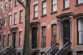 Classic old New York City apartment — Stock Photo