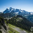 Mt Shuksan, Washington state Cascades — Stockfoto