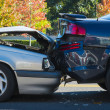 Auto accident involving two cars — Stock Photo #34902723