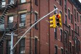 Apartment building, Manhattan, New York City — Stock Photo