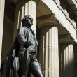 Stock Photo: Statue of George Washington, Federal Hall, New York City