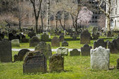 Trinity church graveyard, New York City — Stockfoto