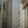 Financial District buildings, New York City — Stock Photo