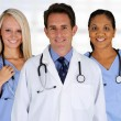 Doctor and Nurses — Stock Photo #13235307