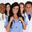 Stock Photo: Doctors and Nurse
