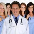 Doctors and Nurse — Stock Photo #13656570