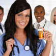 Doctors and Nurse — Stock Photo #23760139