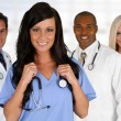 Doctors and Nurse — Stock Photo #23760147