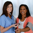 Nurse and Patient — Stock Photo #25695867